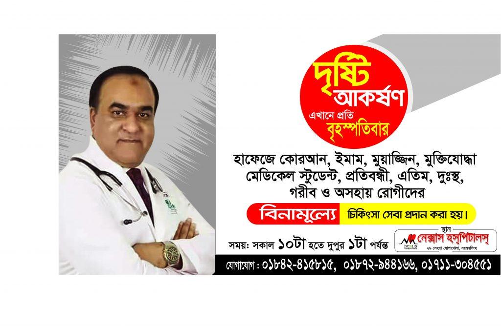 Prof Dr Hasibur Rahman Dermatologist